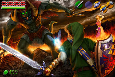 Battle for the Triforce III - Interface by mattleese87