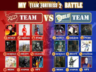 My Tf2 Cast by V1EWT1FUL