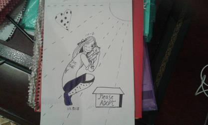 InkTober Day 3 by Paru-chinBaka
