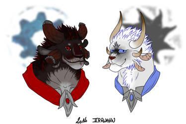 Gjall and Farghas by Irrwahn