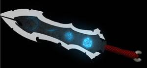 Fantasy sword rune view by Poisonbiggs