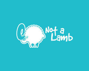 Not-a-Lamb-Logo by whitefoxdesigns