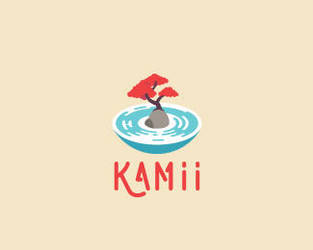Kamii-Logo by whitefoxdesigns
