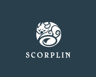 Scorplin-Logo by whitefoxdesigns