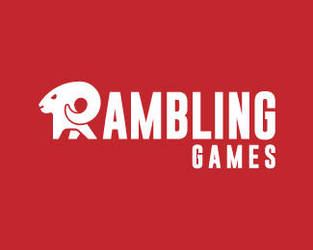 Rambling-Games-Logo by whitefoxdesigns
