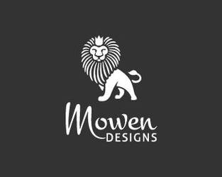 Mowen-Designs-Logo by whitefoxdesigns
