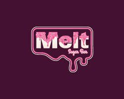 Melt-Sugar-Bar-Logo by whitefoxdesigns