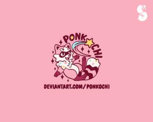 Ponkochi-2-Logo by whitefoxdesigns