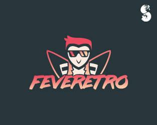 FEVERETRO-Logo by whitefoxdesigns