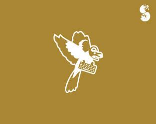 AngryShrike-Logo by whitefoxdesigns