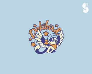 Dokibird-Logo by whitefoxdesigns