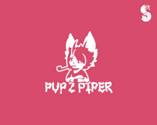Pup-Z-Piper-Logo by whitefoxdesigns