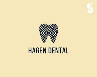 Hagen-Dental-Logo by whitefoxdesigns