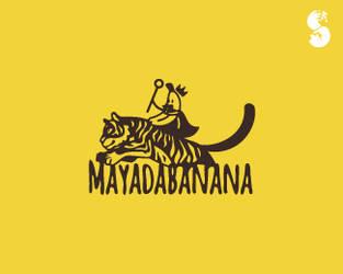 Mayadabanana-Logo by whitefoxdesigns