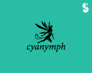 Cyanymph-Logo by whitefoxdesigns