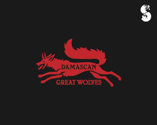 Damascan-Great-Wolves-Logo by whitefoxdesigns