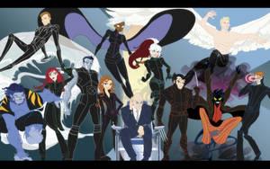 X-Men Movie Group by VegetarianGoat