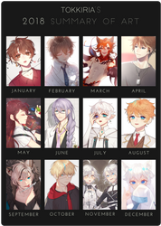 2018 Summary of Art by tokkiria