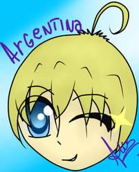 Intento fail de Argentina version Hetalia. by Neko-Ara