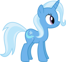 Trixie standing by Racefox