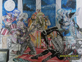 I Cavalieri Hard Rock by Libra-marig