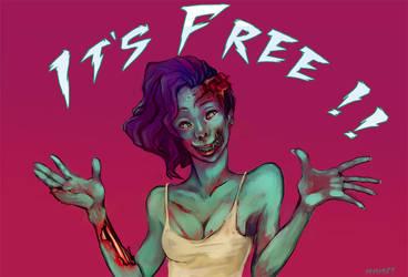 It's free ! by 14111989