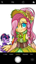 Fluttershy by RougeRedRed