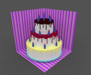 Birthday Cake by MadEyeArcher