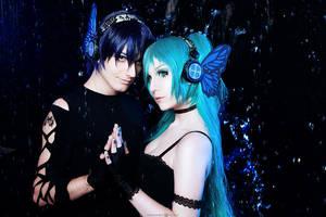 Kaito and Miku Magnet by mikle-kolumb245