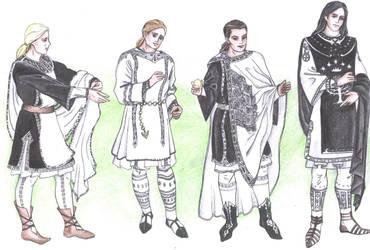 Gondorian clothing for men by Tindarien