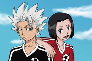 Toshiro and Karin by Reannda