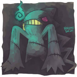 Banette used will-o-wisp by sinner-moon
