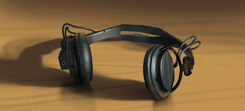 Headphones by Clean3d