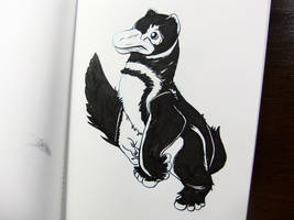 Inktober2016 day 21: Penguin-mink by Clean3d