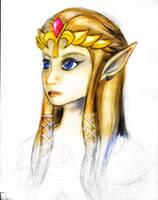 Princess Zelda by Wavebird