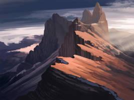 Mountain practice by VikyR