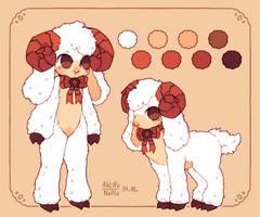 sheep gal by Neflo