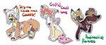 Stickers batch (Closed by TinyCat000