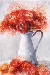 Ranunculus by Gloria-san