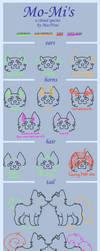 Mo-Mi Reference Sheet by MacNroo
