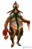 Minotaur Lord by PeteAmachree