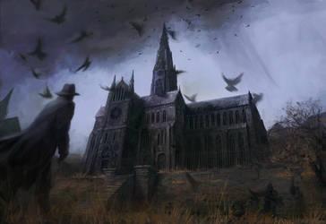 The Haunter of the Dark by PeteAmachree