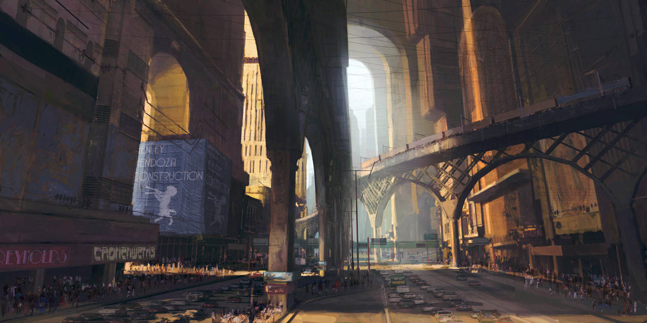future city 3 by PeteAmachree
