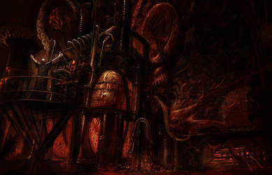 Ia Shub Niggurath by PeteAmachree