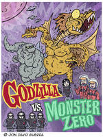 Godzilla vs Monster Zero by JonDavidGuerra