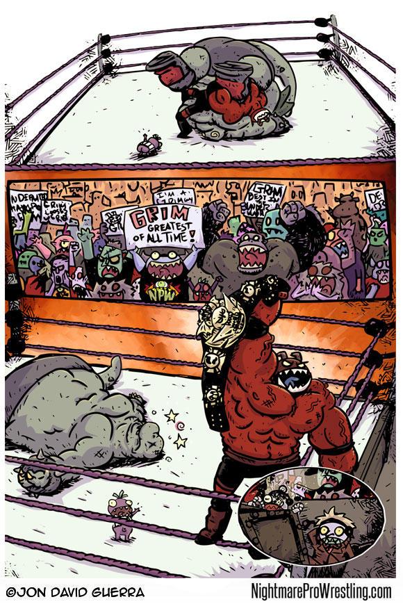 Nightmare Pro Wrestling Issue 5 Page 15 by JonDavidGuerra
