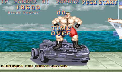 Brock Lesnar Bonus Stage by JonDavidGuerra