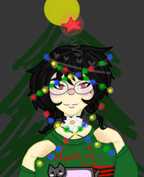 Christmas Floof oh Christmas Floof by Mermaid--Queen