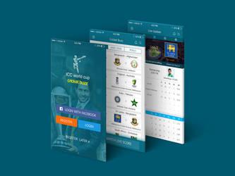 Cricket Live Update iOS APP by antuhin