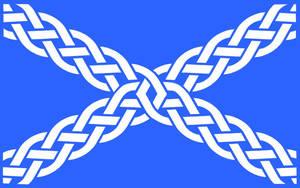 Alternate Scottland flag by Tyrrhen